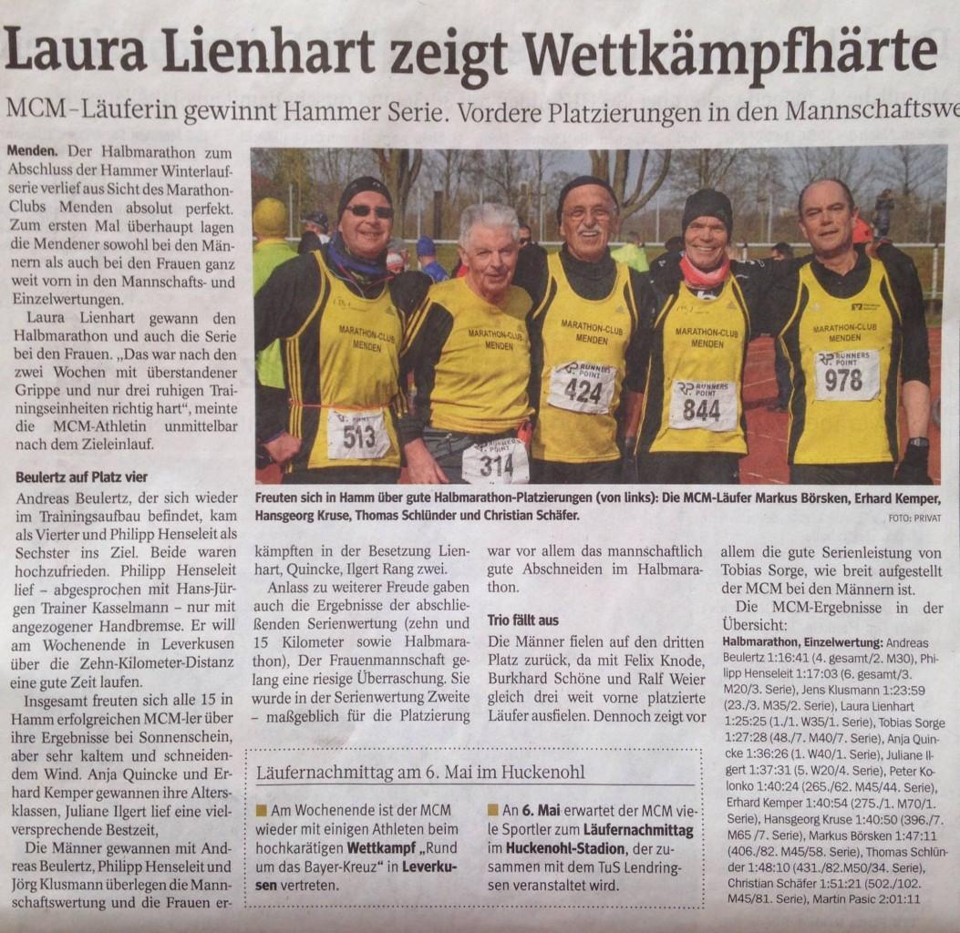 Laura Lienhart zeigt Wettkampfstärke