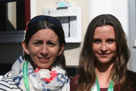 Laura Lienhart und Kathy Kessler