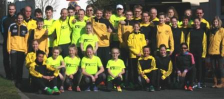 Mannschaft 5 Kilometer