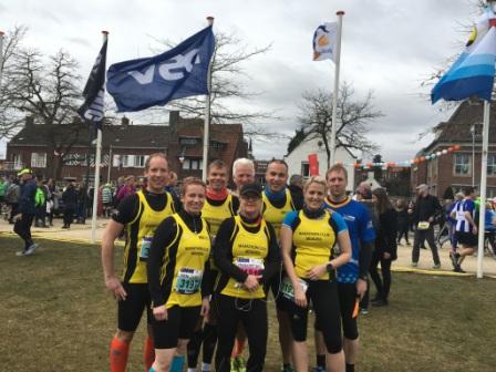 MCM-Mannschaft vor dem Start in Venlo