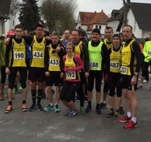 MCM-Team vor 10km Start