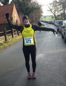Silke Krause (Archivbild vom 10km-Lauf in Bönen 2014)