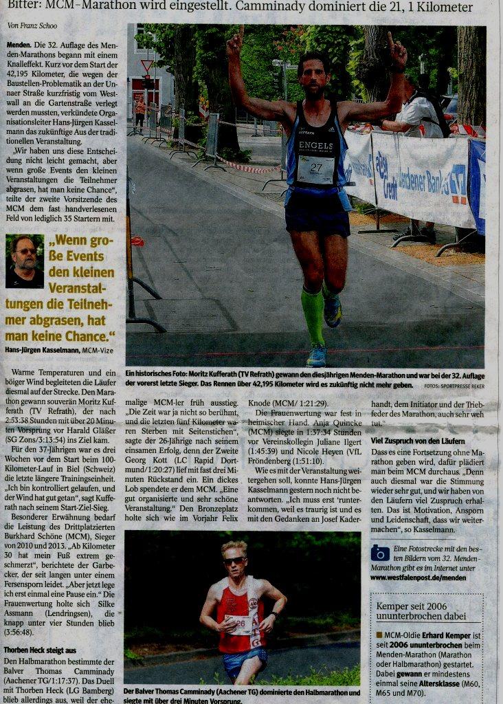 160523 WP-Bericht Menden-Marathon