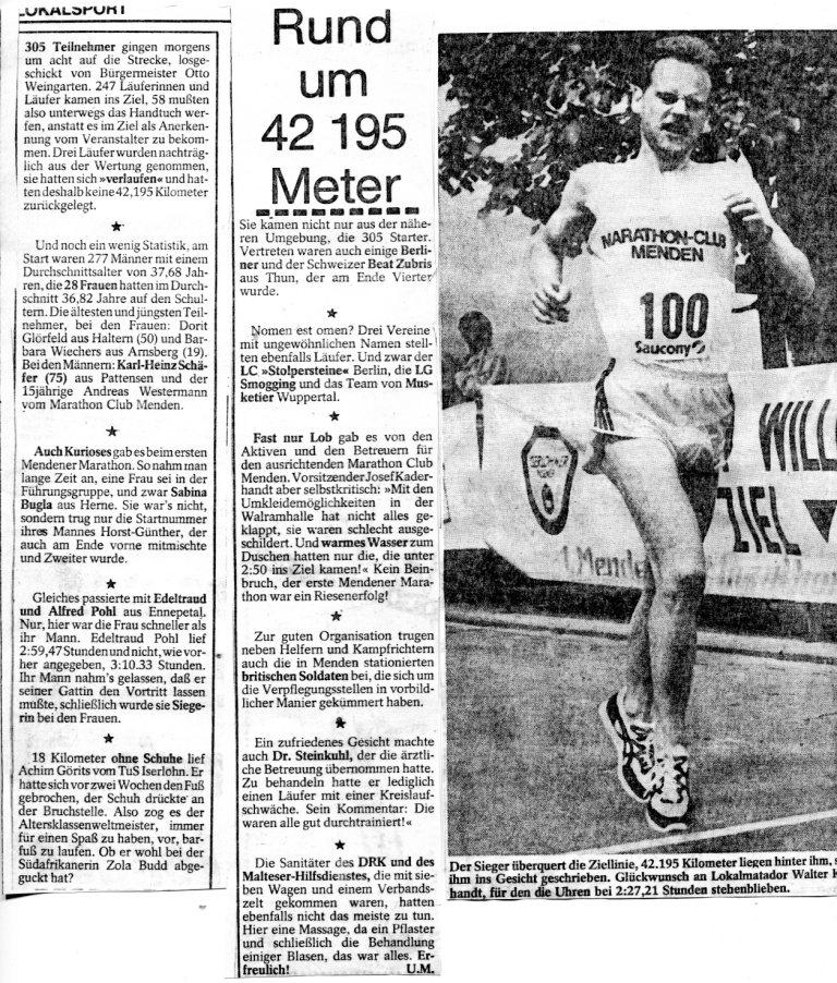 160525 MZ-Nachlese 1. Menden-Marathon