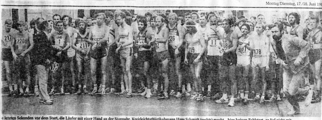 160525 Startfoto Marathon 1985