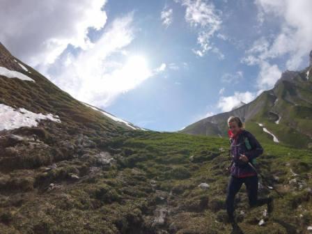 160628 Juliane Ilgert auf dem Zugspitz-Trail 1
