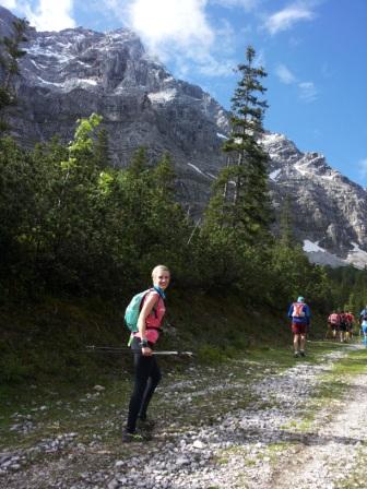 160628 Juliane Ilgert auf dem Zugspitz-Trail 2