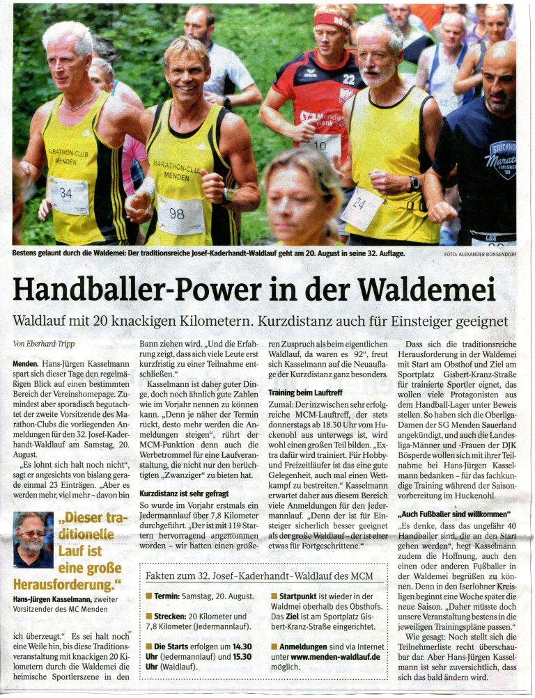 160721 Handballer in der Waldemei