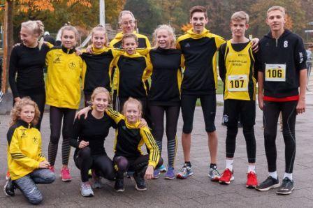 Das MCM Team voll motiviert vor dem Start in Paderborn