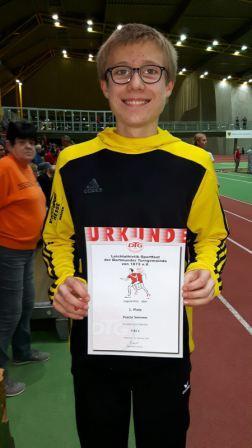 Pascal Sommer nach seinem Erfolg in Dortmund